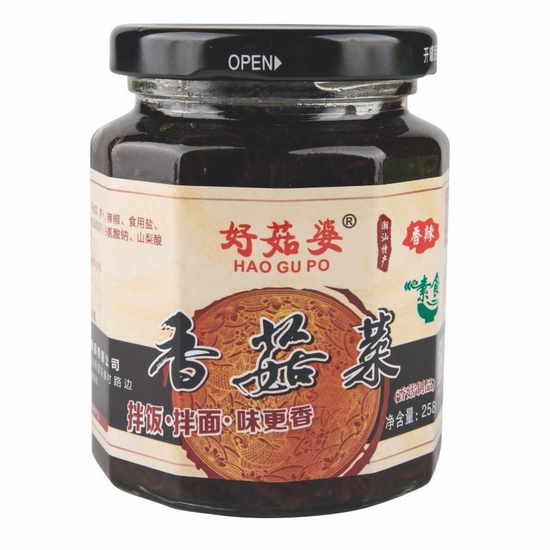 好菇婆®香菇菜 258g(香辣)