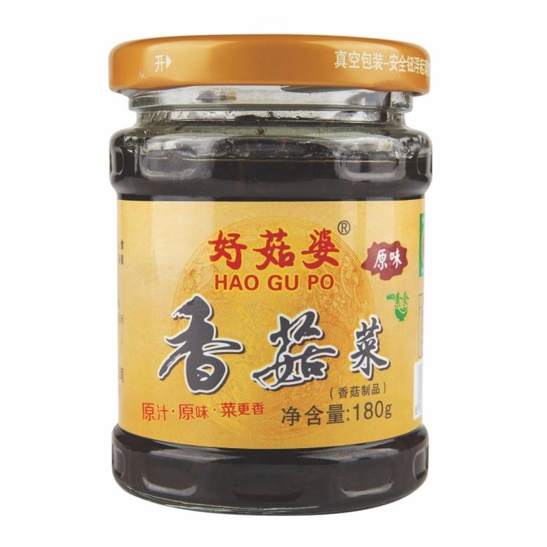 好菇婆®香菇菜 180g(原味)