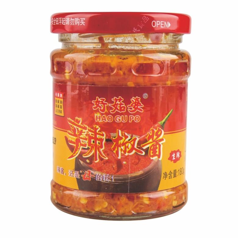 好菇婆®红标辣椒酱 180g