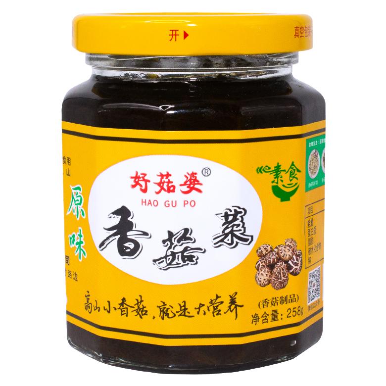 好菇婆®香菇菜 258g(原味)