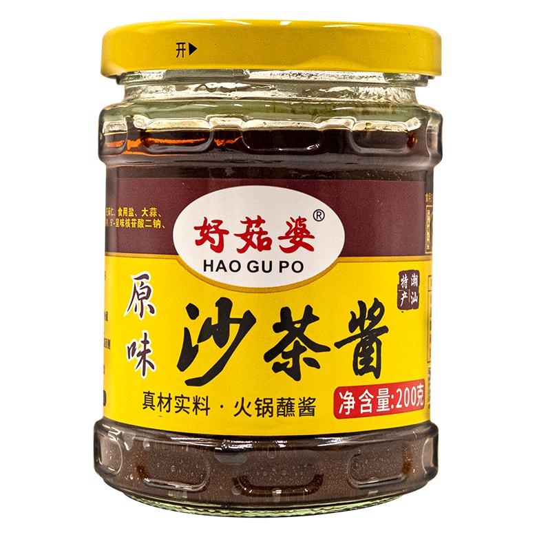 好菇婆®沙菜酱 200g (原味)
