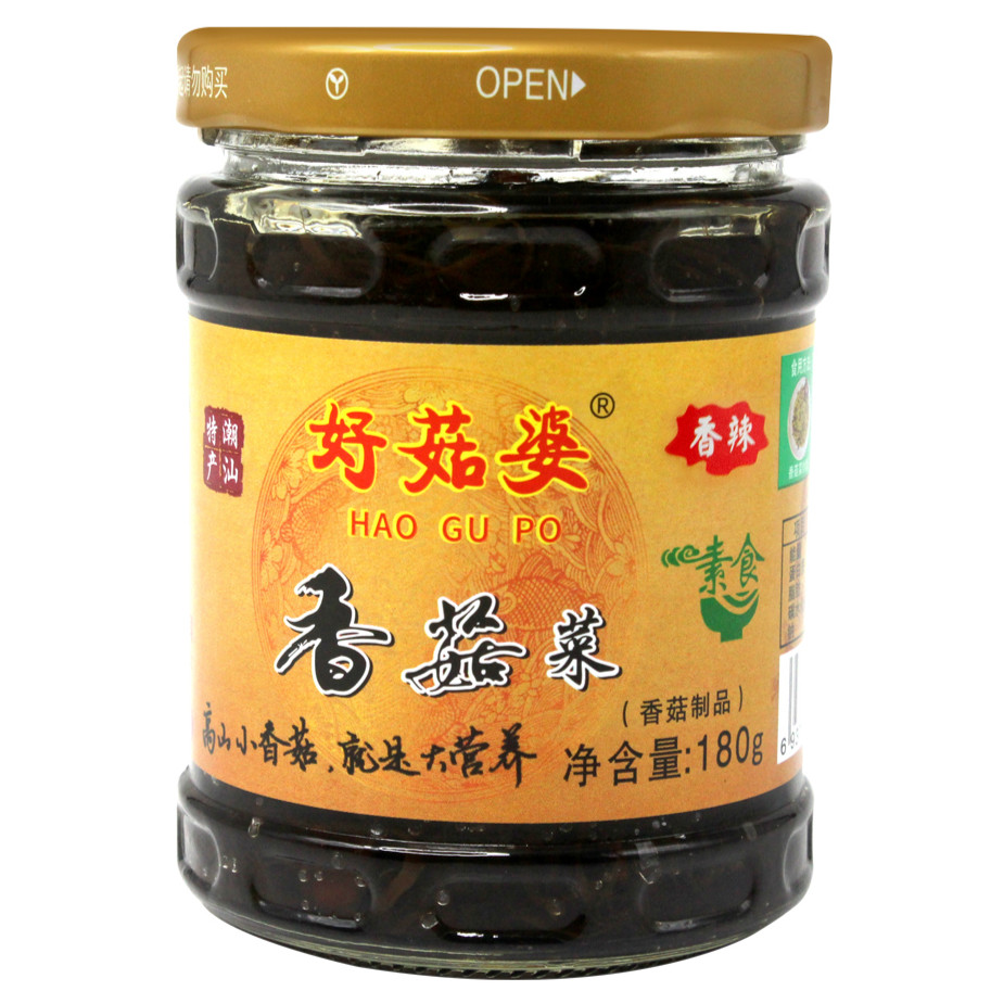 好菇婆®香菇菜 180g(香辣)